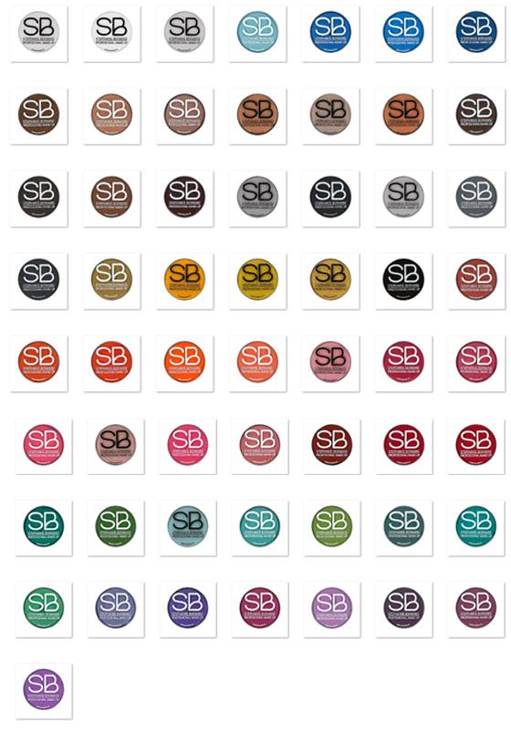 Kit n°4 - Kit SB Make-Up by SUPERSTAR (57 fards à 'eau)