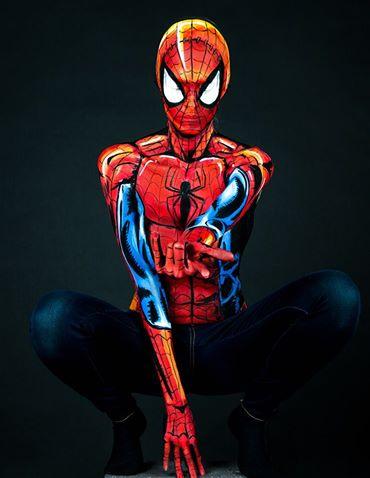Kay Pike Spiderman