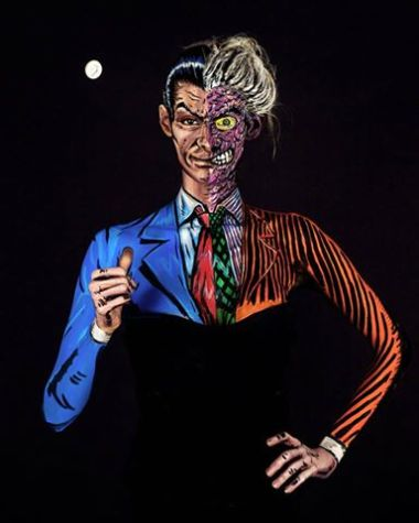 Kay Pike Two-Face