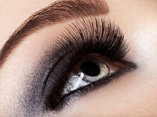 maquillage pour Yeux gris