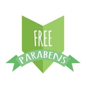 Free paraben label