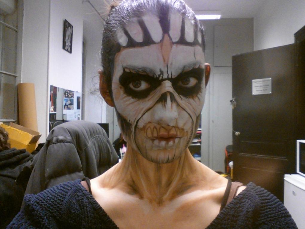 TUTO Eddie the Head Iron Maiden 3