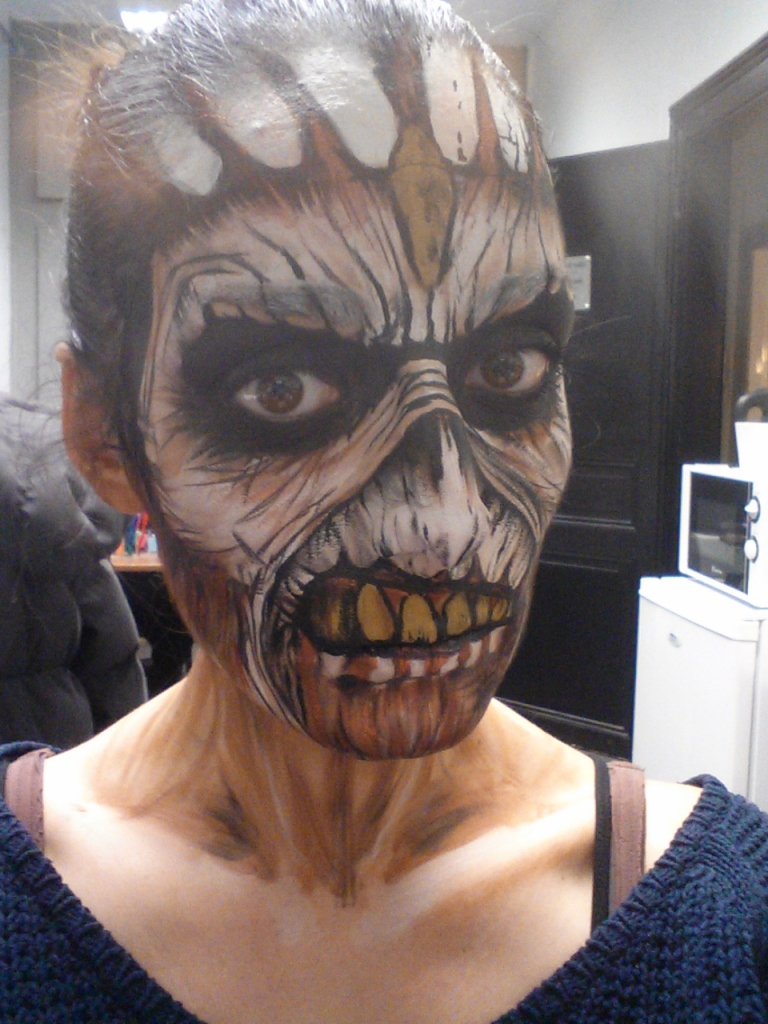 TUTO Eddie the Head Iron Maiden 5