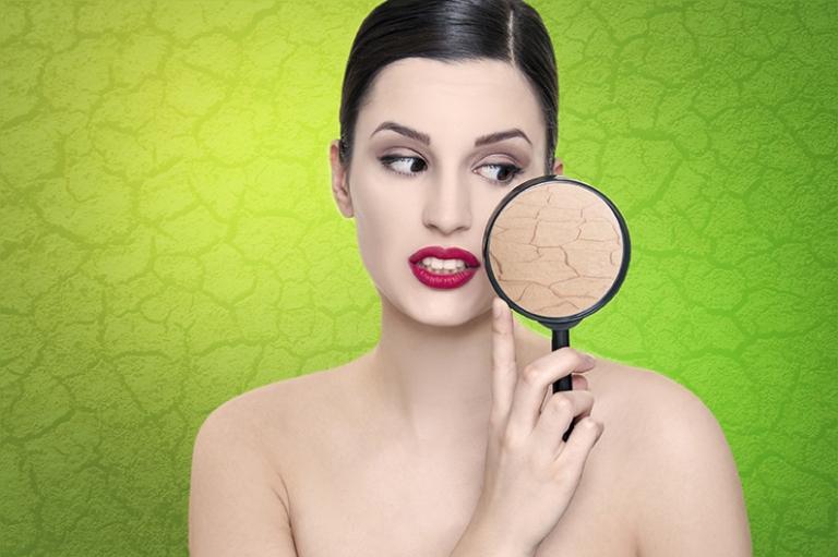 Dry skin problem